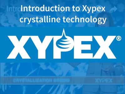 Introduction to Xypex crystaline technology
