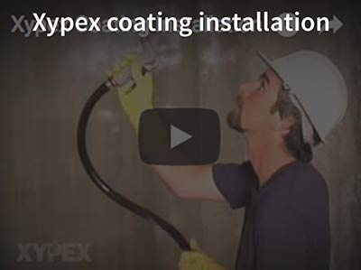 Xypex Coating Installation