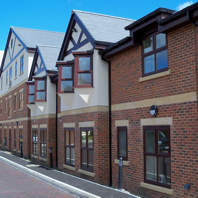PICKTREE COURT, CHESTER LE STREET - Xypex